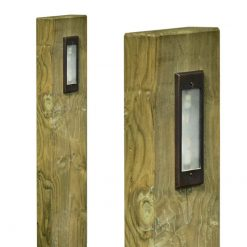 Pine Sleeper Post Light