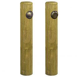 Timber Pine Post Bollard
