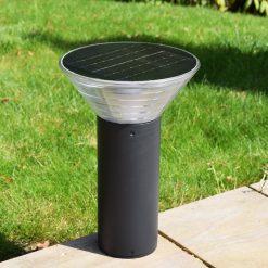 Olympia Solar Pedestal in situ